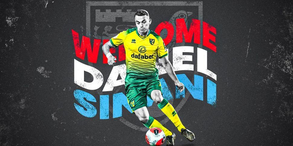 Luxembourg forward Danel Sinan...