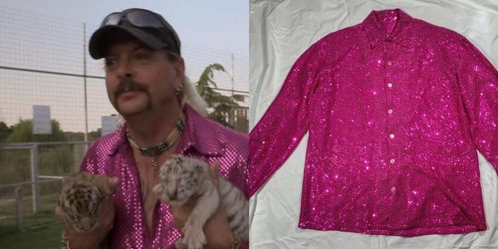 Tiger King Joe Exotic's Pink S...