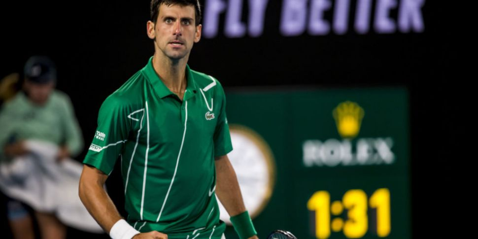 Novak Djokovic remains undecid...