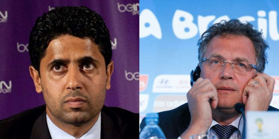 PSG owner and former FIFA no.2...