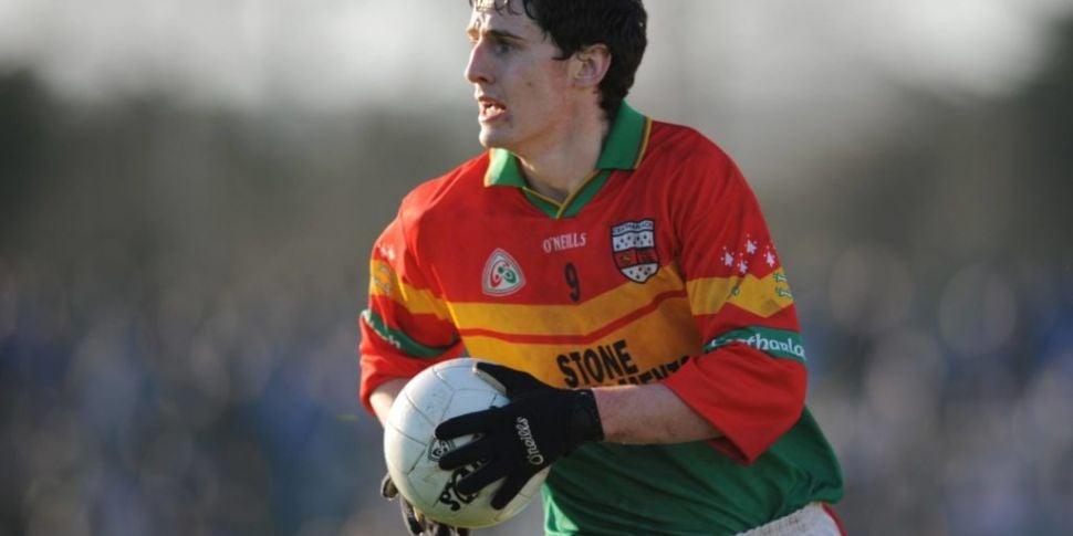 Carlow GAA player confirms he...