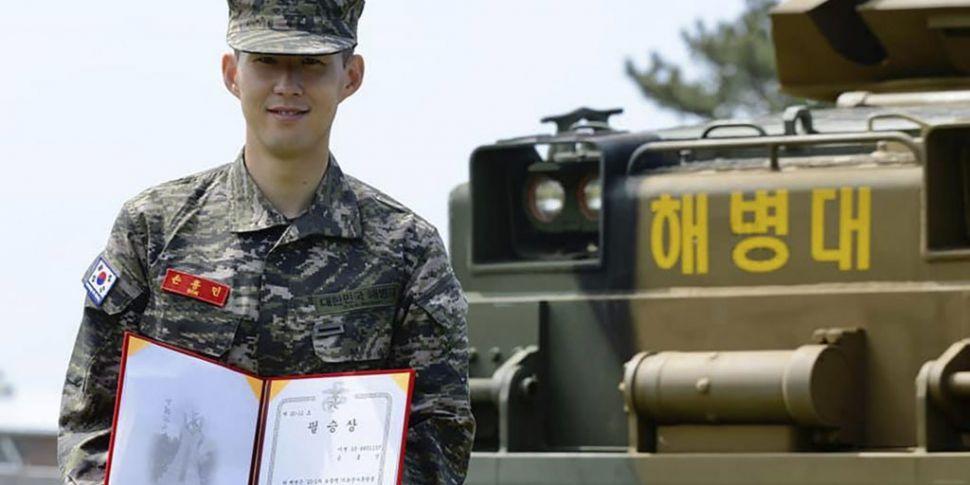 Heung-Min Son receives 'Pilsun...