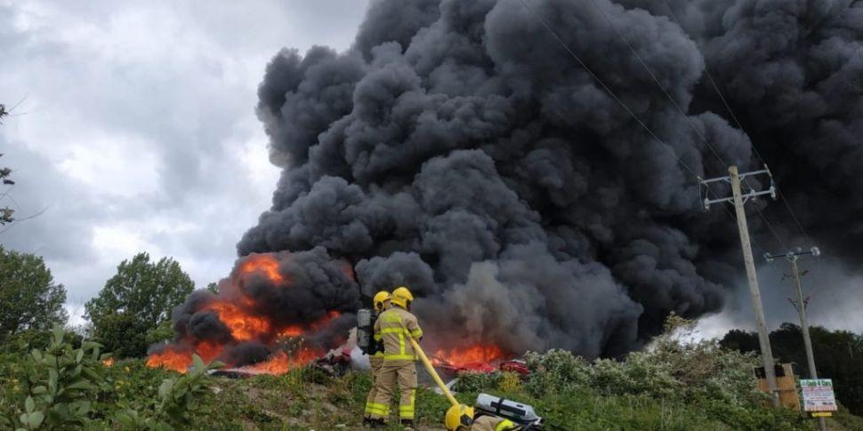 Dublin Fire Brigade Tackling S...