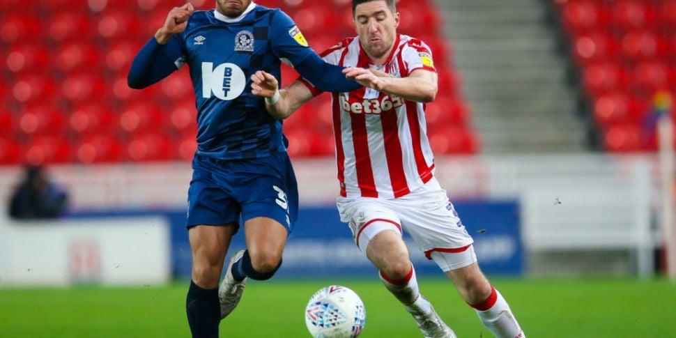 Asymptomatic Blackburn player...