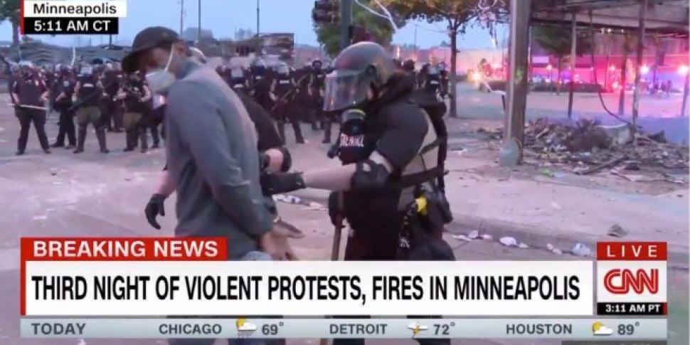 Minnesota Police Arrest CNN Re...