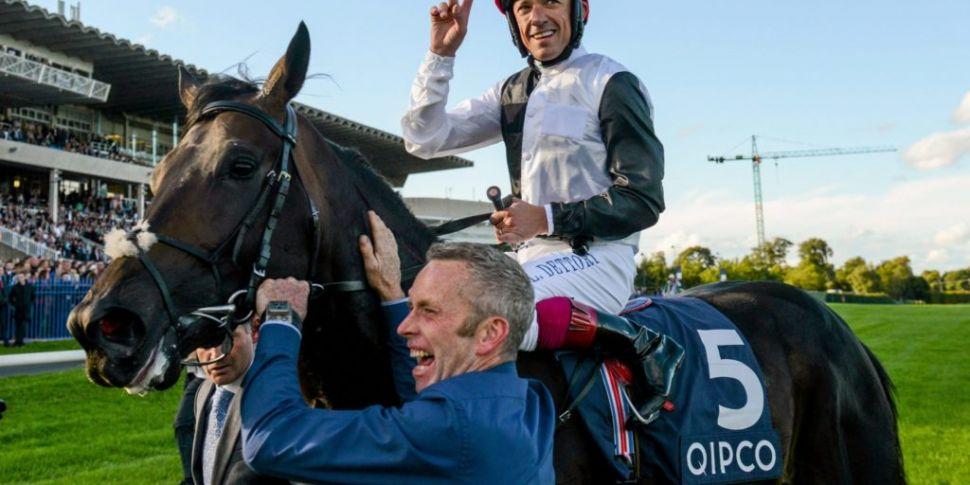 Frankie Dettori will ride for...