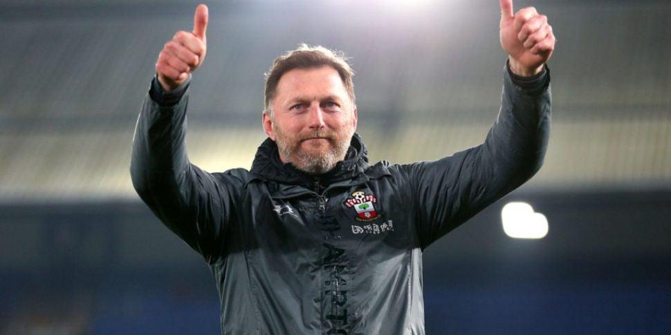 Southampton move to the top of...