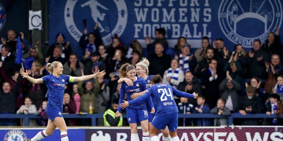 Chelsea crowned Women's Super...
