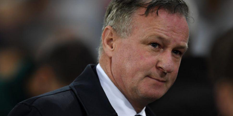 Stoke City boss Michael O'Neil...