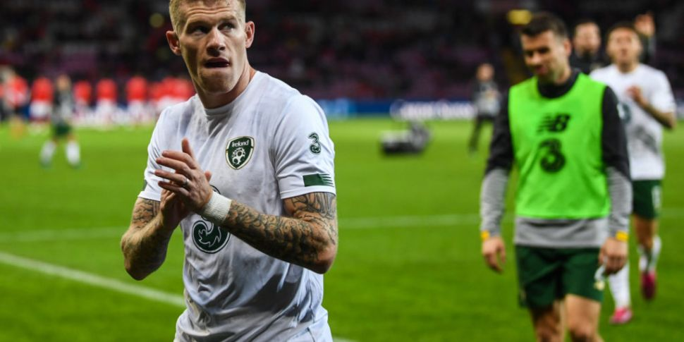 Abuse of James McClean is