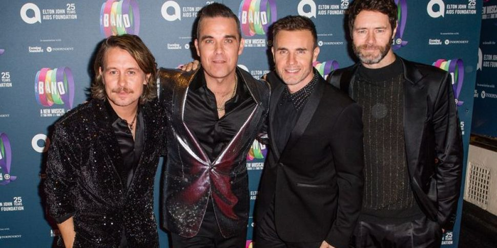 Robbie Williams Is Writing Son...