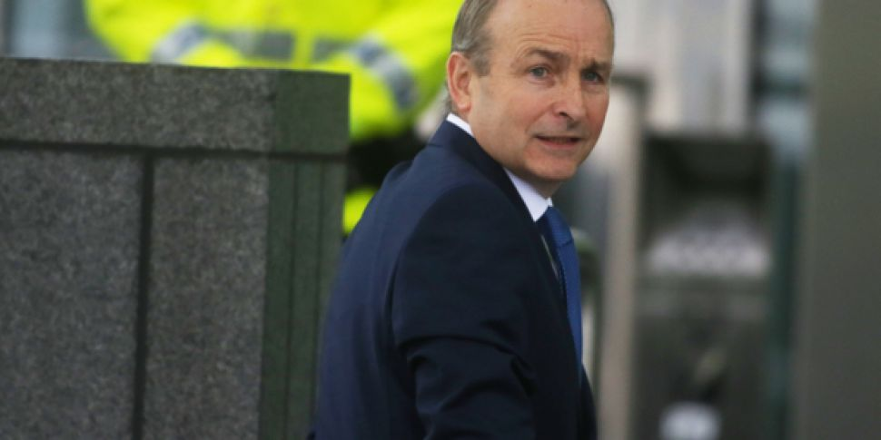 Micheál Martin Elected Taoisea...
