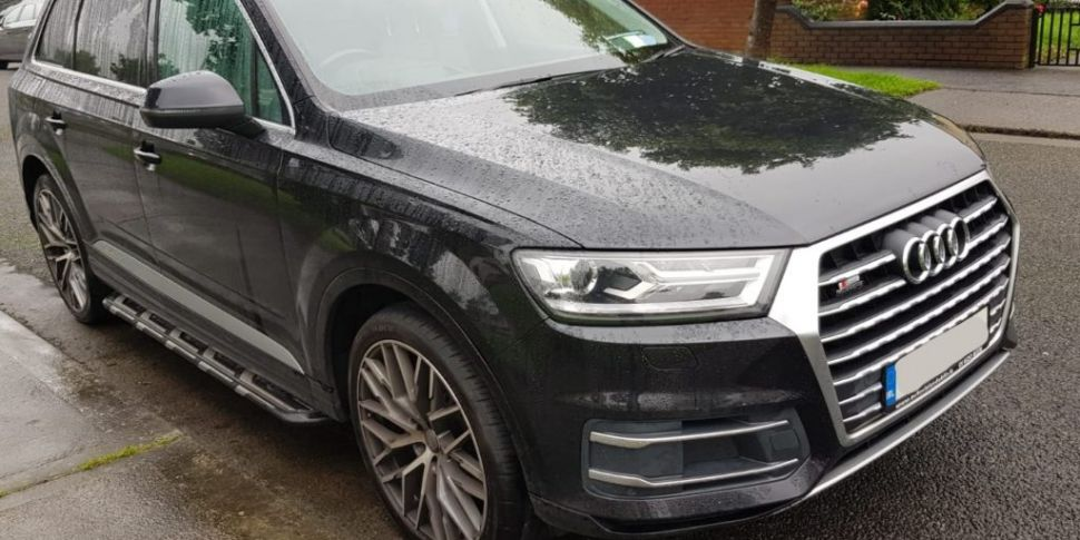 CAB Seize €66,000, Audi Car An...