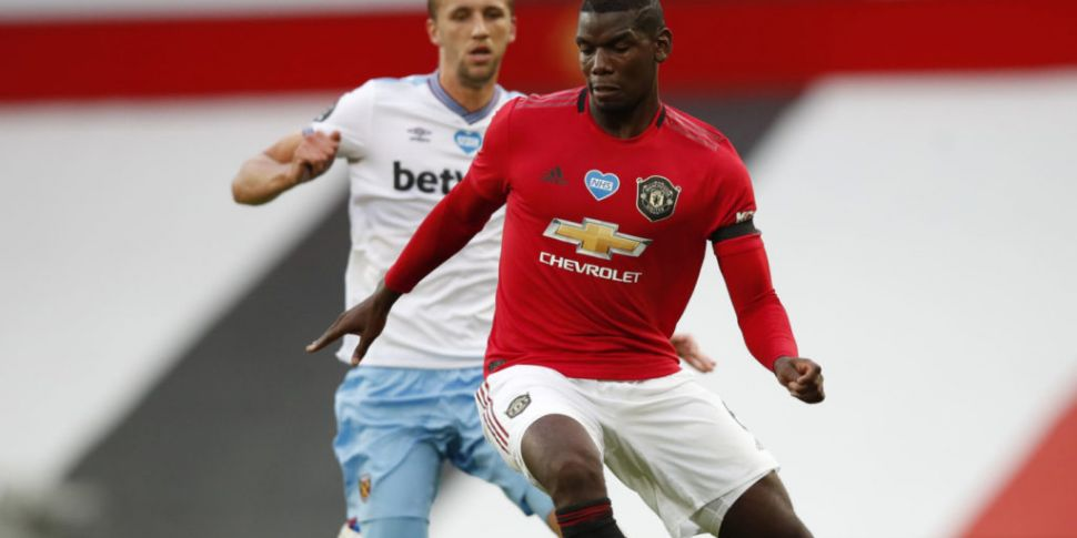 WATCH: Pogba handball almost c...