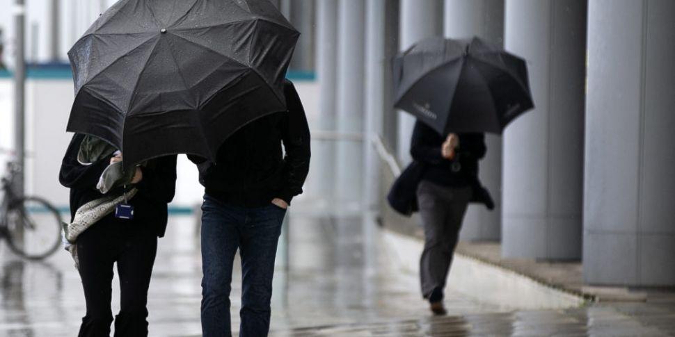 Status Yellow Rain Warning Iss...