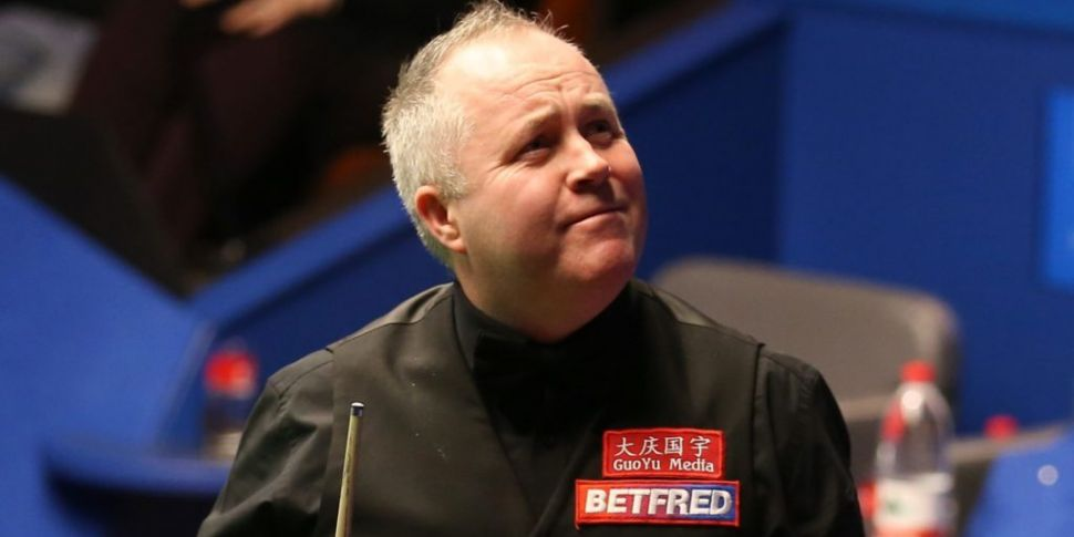 John Higgins makes 147 maximum...