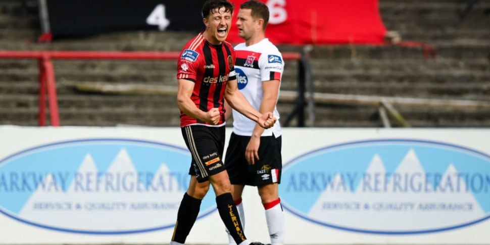 Bohemians up to second as Dund...