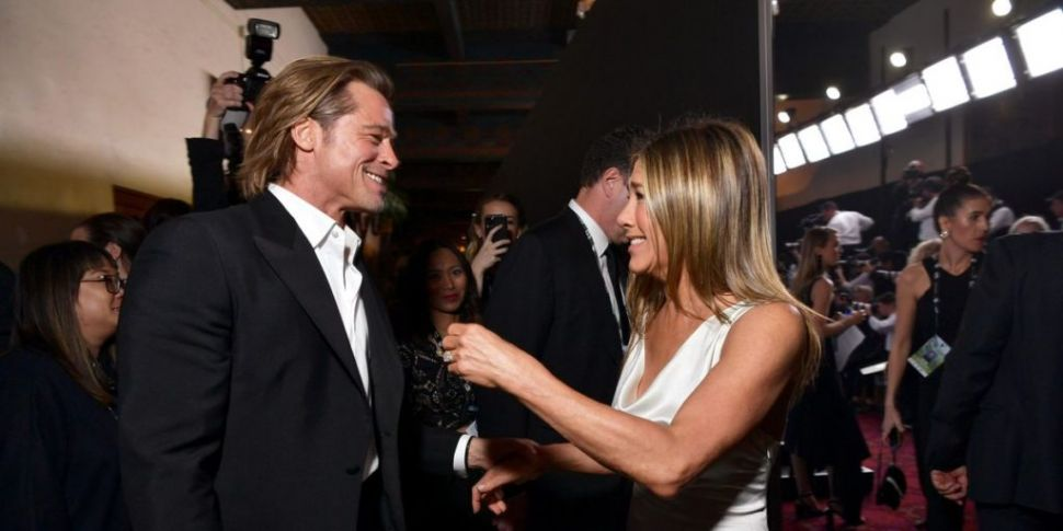 Brad Pitt and Jennifer Aniston...