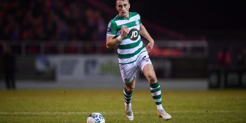 'First half against St Pats, f...