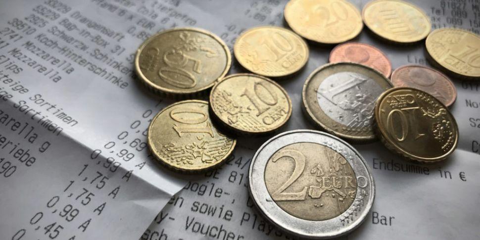 Average Irish Person To Spend...