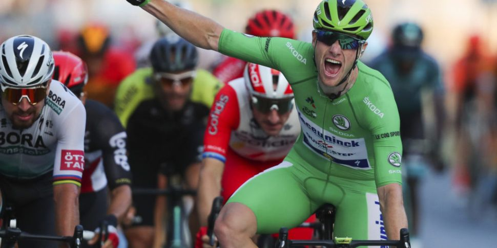 Irish Tour de France hero Sam...
