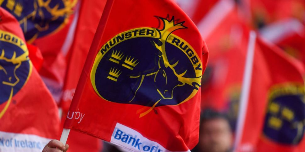 Munster say Academy player has...