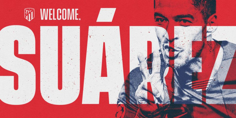 Atletico confirm Suarez arriva...