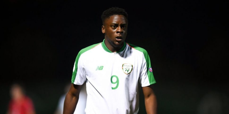 Ireland U21 striker Jonathan A...