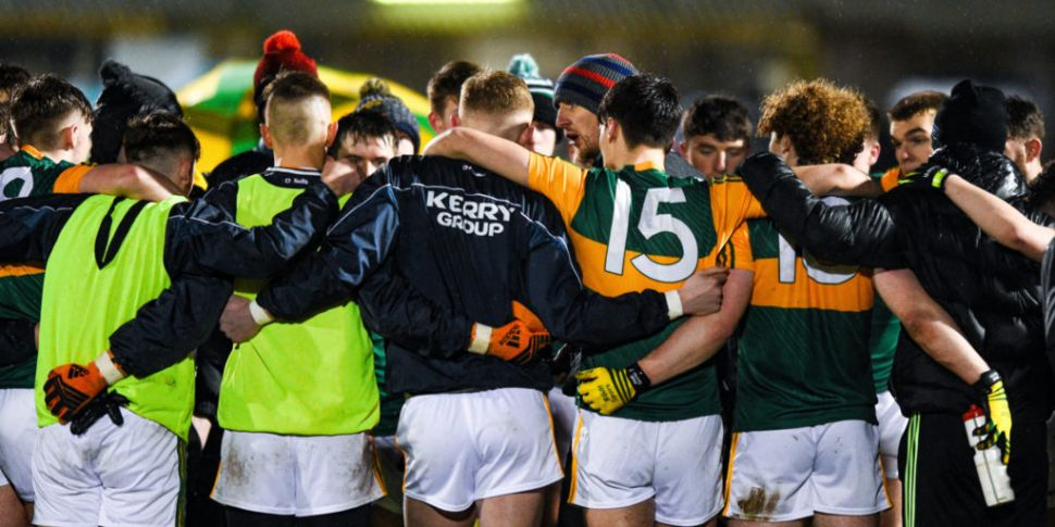 Kerry U20 player positive for...