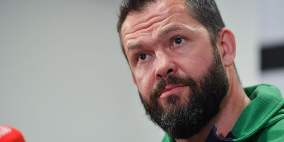Andy Farrell names Ireland's S...