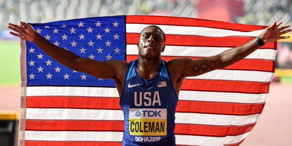 World 100m champion Christian...