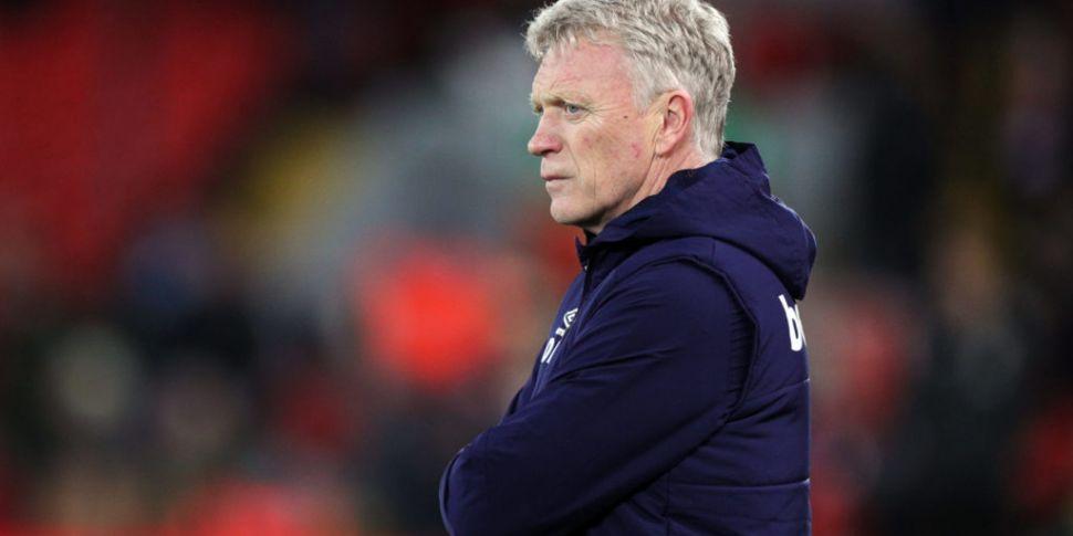 West Ham boss Moyes says havin...