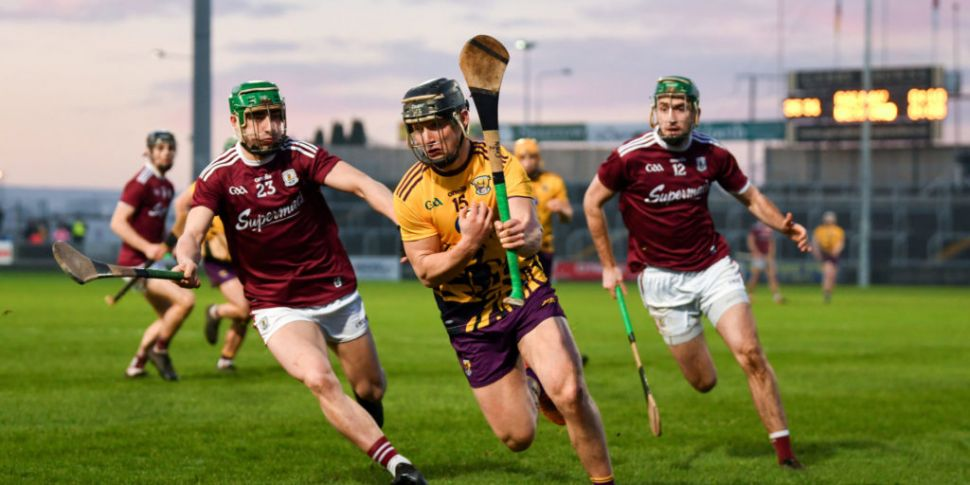 Wexford and Galway show their...