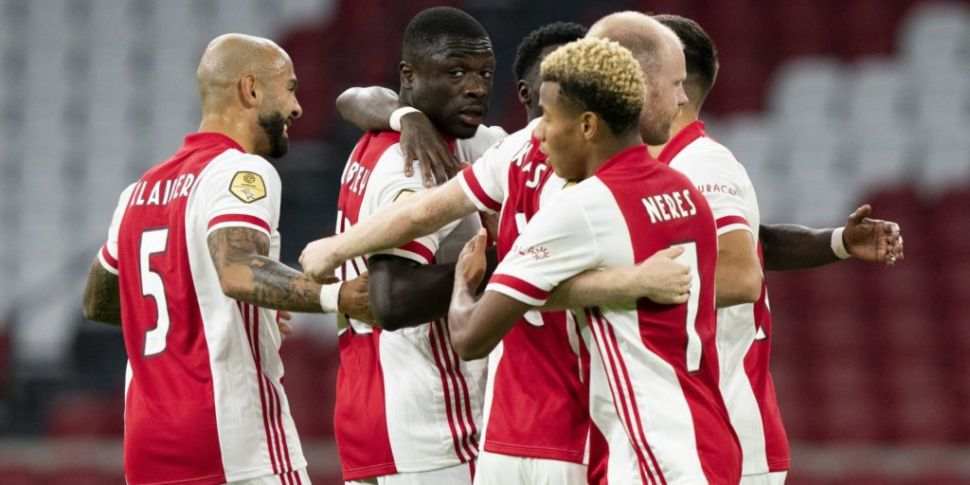11 Ajax players test positive...