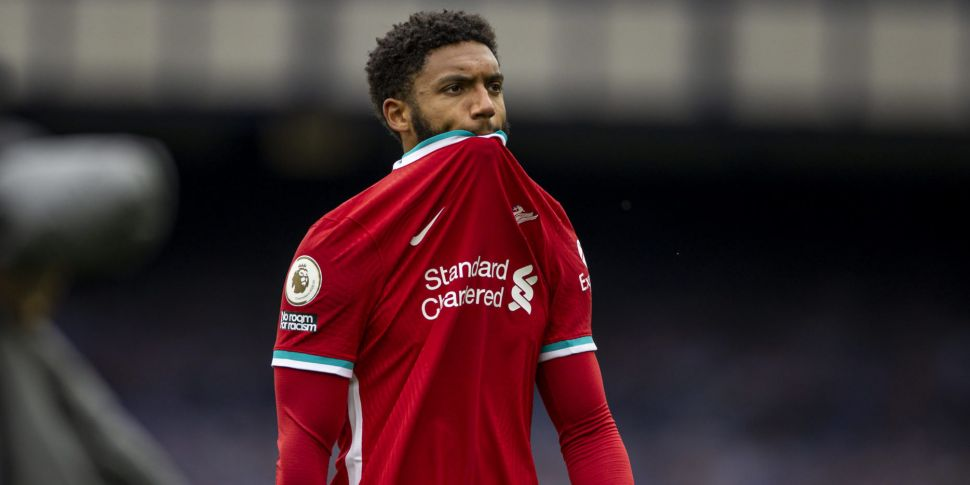 Liverpool defender Joe Gomez s...