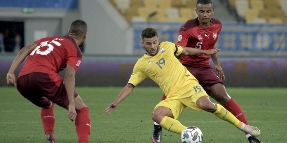 Switzerland v Ukraine cancelle...