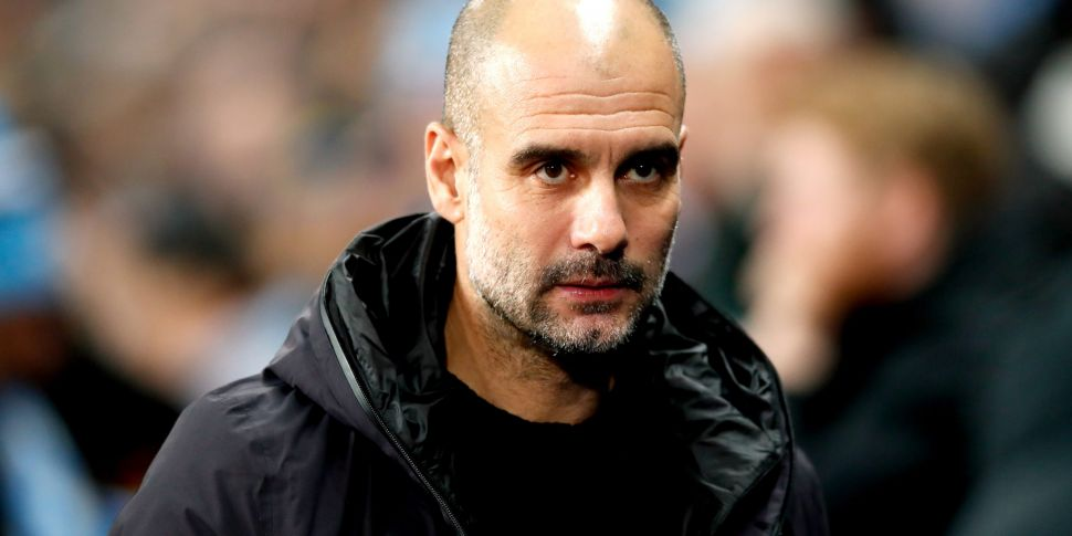 Pep Guardiola signs a new two...