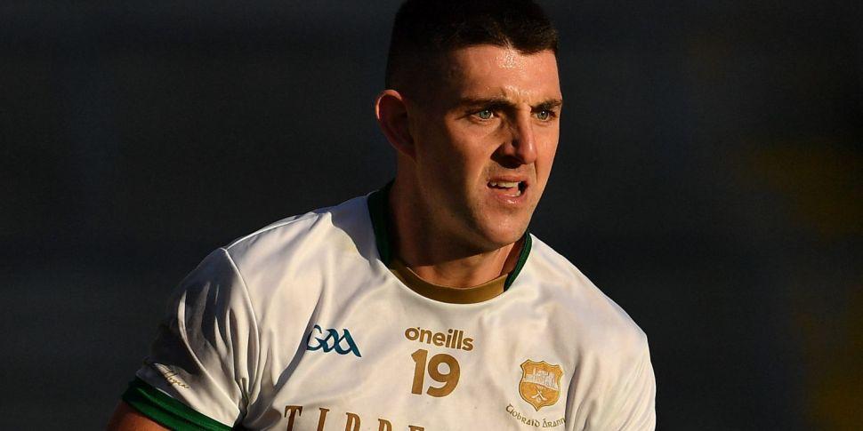 Colin O'Riordan cleared to pla...