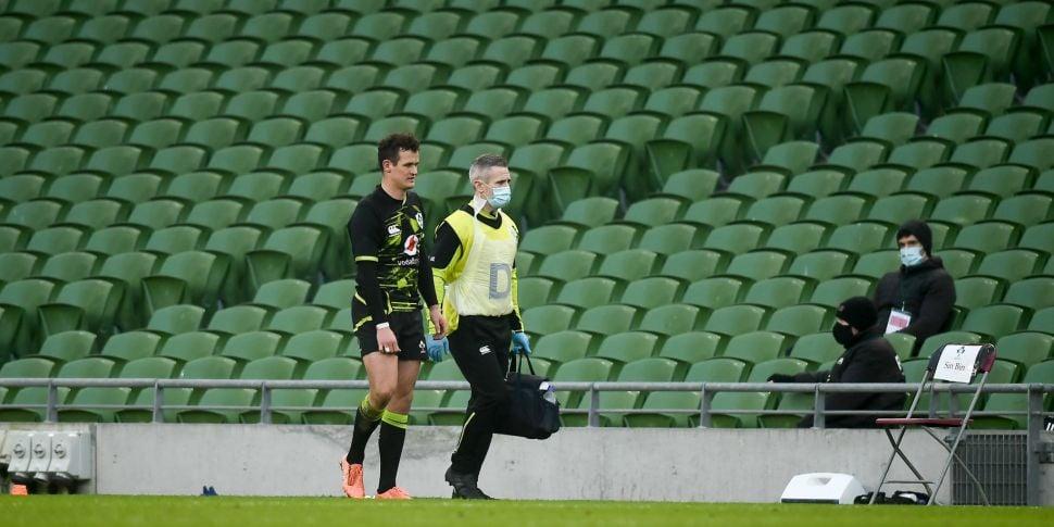 Billy Burns to miss Ireland's...