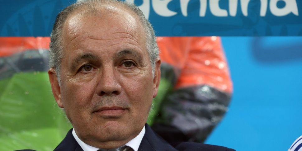 Former Argentina manager Aleja...