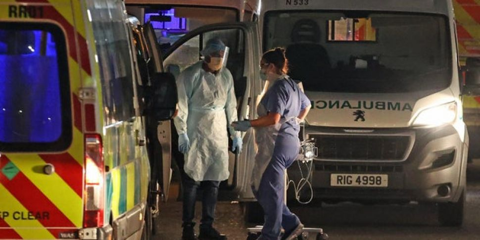 Patients Treated In Car Park O...