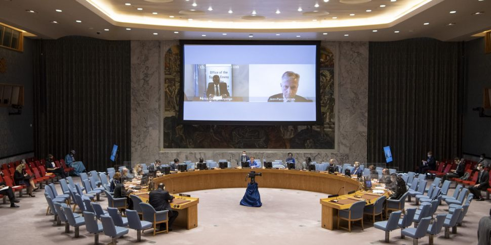 Ireland Takes Up Seat At UN Se...