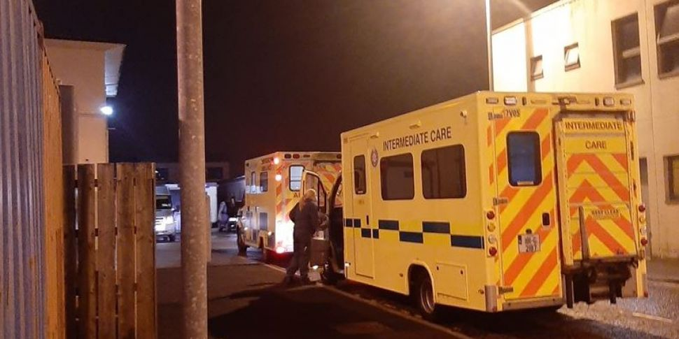 Patients Treated in Ambulances...