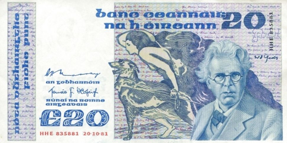 €350 Million Of Old Irish Poun...