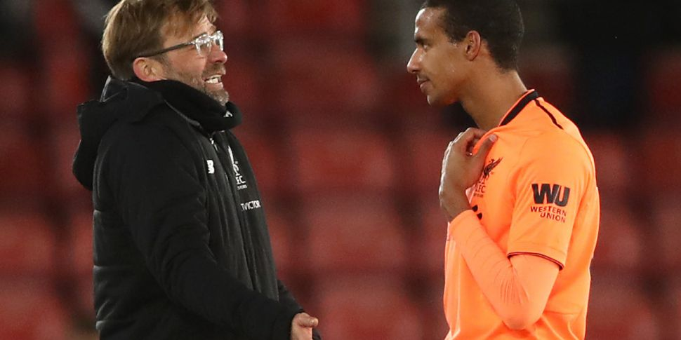 Klopp: United game may come to...