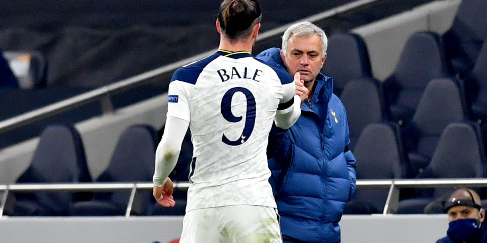 Mourinho opens up on Bale futu...