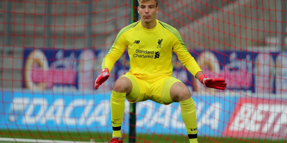 Liverpool goalkeeper signs for...
