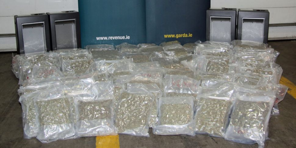 Cannabis Worth €2.5 Million Se...