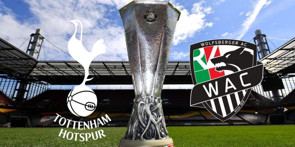 Tottenham Europa League game w...