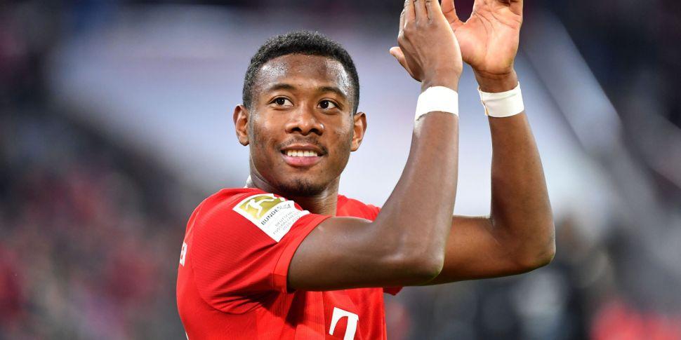 David Alaba to leave Bayern Mu...
